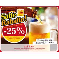 Billa: -25% auf Bier (Radler) am 20. u. 21.3.2015 (für Clubmitglieder)