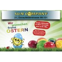 Osteraktion ABOCARD Sun Company Donaufelderstrasse