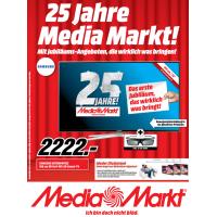 25 Jahre Media Markt – Jubliäumsangebote bis 31. März 2015