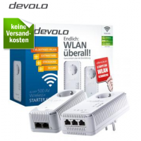 Redcoon Supersale – zB.: devolo dLAN 500 AV Wireless+ Starter Kit um 99 € inkl. Versand