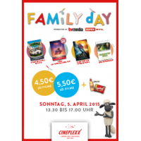 Cineplexx Family FilmDay am 05.04.2015 (Ostersonntag)