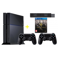 PlayStation 4 – Konsole 500GB inkl. The Order: 1886 + 2x Wireless Controller + Kamera um 399€ statt 522,38€ – bis 6. April 2015