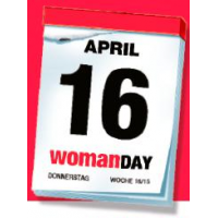 Woman Day 2015 – am 16. April 2015 – alle Gutscheine (inkl. SCS)