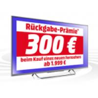 Media Markt: Alt gegen Neu, bis zu 300 € auf den neuen TV sparen