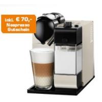 Saturn-Tagesdeals – z.B.: De Longhi EN 520 PW Lattissima Restyle Pearl White + 70 € Nespresso Gutscheine um 179 €