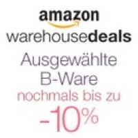 Amazon Warehouse Deals: Nochmals bis zu 10% Rabatt auf ausgewählte Artikel (B-Ware)