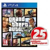 Media Markt: GTA V für PS4 um 39 € inkl. Versand