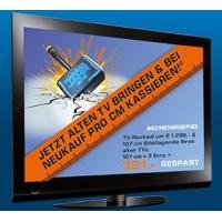 Saturn Lokal: Alt gegen Neu Rabatt beim Kauf eines neuen TV