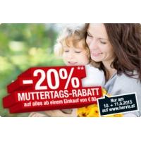 Hervis Online: -20% Rabatt auf (fast) alles ab 80 Euro Einkaufswert