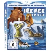 Amazon: Ice Age 1, 2, 3 & 4 (Limitierte Sonderbox mit Ice Age Figuren!) auf Blu-ray ab 10,97 €