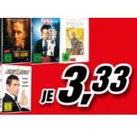 Media Markt: DVD-Abverkauf um je 3,33 €