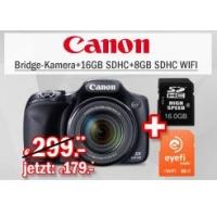 Redcoon Supersale – zB.: Canon Powershot SX520 HS Digitalkamera Bundle um 199,67 € inkl. Versand
