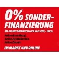 Media Markt zinsfreie Sonder-Finanzierung ab 299 Euro Einkaufswert