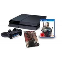 PlayStation 4 inkl. The Witcher 3 und Comic für nur 388 Euro bei Amazon