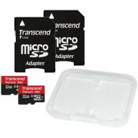 2 Stück Transcend Premium Class 10 micro-SDHC 32GB um 21,99€