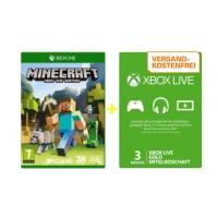 Saturn-Tagesdeals – z.B.: Minecraft (Xbox One) + 3 Monate Live um 18€