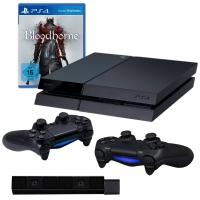 Playstation 4 + 2 Controller + Bloodborne + Cam um 389 € – nur heute!