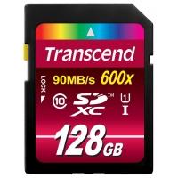 Amazon: Transcend TS128GSDXC10U1 128GB SDXC-Karte um 54,99€