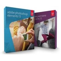 Adobe Photoshop Elements 13 und Premiere Elements 13 um nur 34,90 €