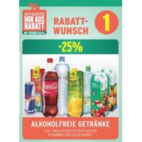 Merkur: -25% auf 3 Warengruppen bis 17.6. – z.B.: alkoholfreie Getränke