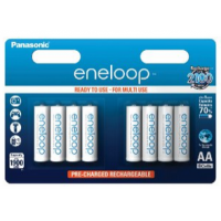 Panasonic eneloop AA NI-MH Akku (1.900 mAh, 8er Pack) um 11,11€
