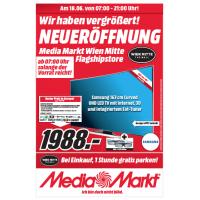 Media Markt Wien Mitte Neueröffnung – alle Eröffnungsangebote vom 18. – 20. Juni 2015 im Preisvergleich! – viele sehr gute Schnäppchen dabei!