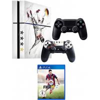 PlayStation 4 inkl. 2 Controller + Fifa 15 inkl. Versand um 359,99€!