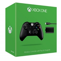 Xbox One Wireless Controller inkl. Play & Charge Kit um 45€ statt 70€