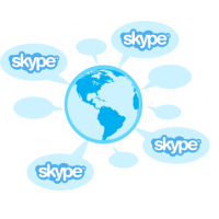 Skype: Welt-Package 1 Monat Kostenlos
