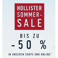 Hollister Sommer-Sale mit bis zu 60 % Rabatt