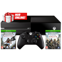 Microsoft Xbox One + 2 Games + 7″ Tablet inkl. Versand um 299€