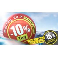 Baumax ab 18.07. -15% Rabatt im Onlineshop und -10% Rabatt im Markt