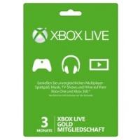 Saturn Tagesdeals – zB: Xbox Live Gold 3 Monate um nur 8 €