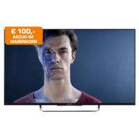 Saturn.at: 100€ Sofortabzug auf alle Sony TVs ab 43″ – z.B.: Sony KDL-50W815B 50″ LED-TV um 699€ statt 811,90€