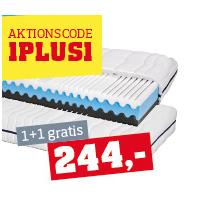 2 Stück Primatex Matratze mit 7-Zonen-Schaumkern um 244 € statt 488 €