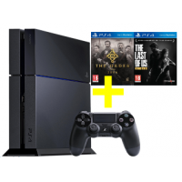 Sony PS4 + The Last of Us Remastered + The Order: 1886 um 299 €