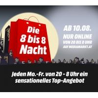 """MediaMarkt """"8 bis 8 Nacht"""" – ab 10.8.2015 täglich ein Aktionsprodukt"""