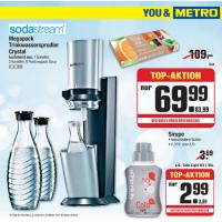 Sodastream Set um nur 83,99 € bei Metro