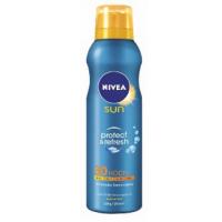 Amazon: bis zu 40 % Rabatt auf Pflegeprodukte – zB.: Nivea Sun Protect & Refresh Kühlendes Sonnenspray LSF 30 um 5,95 € statt 14,95 €