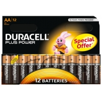 12er-Pack Duracell Plus Power Batterie AA um 5 Euro inkl. Versand