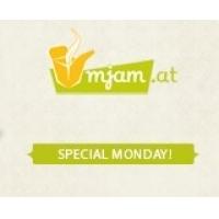 Special Monday – 3 € sparen bei mjam.at & willessen.at von 16 – 18 Uhr