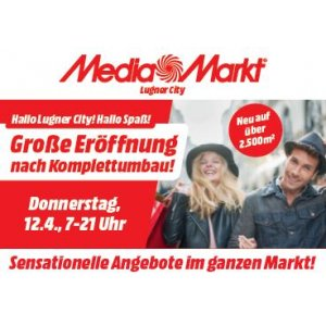 Media Markt Lugner City Eröffnungsangebote Ab 12 April 2018