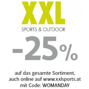 Xxl Sport Outdoor Woman Day Angebot Sparhamsterat
