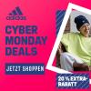 adidas Cyber Wochenende - 25 % Rabatt auf ausgewählte Produkte