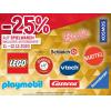 Metro - 25 % Rabatt auf alle Spielwaren (inkl. Werbeware) am 19. & 20.10.