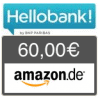 Hello bank! Depot - 60 € Amazon.de + keine Depotgebühr bis Ende 2018