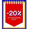 20 % Rabatt auf fremdsprachige Bücher bei Thalia - nur heute