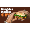 Burger King - King des Monats Februar: Long Chili Chicken um 2,50 €