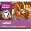 Sakai - Sonntags Sushi Brunch um 24,50 € bis 8. Juli 2018
