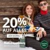 Peek&Cloppenburg – 15 % Rabatt auf ALLES (99 € MBW) + gratis Versand
